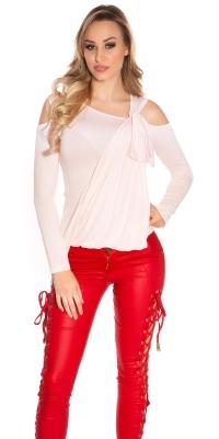 Bluze fashion dama cu warp optic
