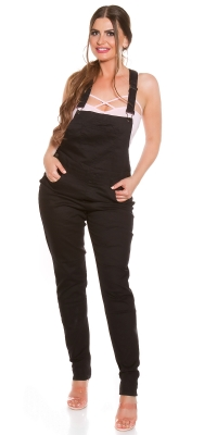 Curvy Girls Size la moda denim dungarees