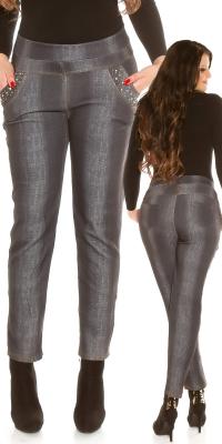 Curvy Girls Size la moda tip jeans Thermalleggings