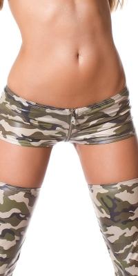 Pantalonasi scurti Sexy cu fermoar