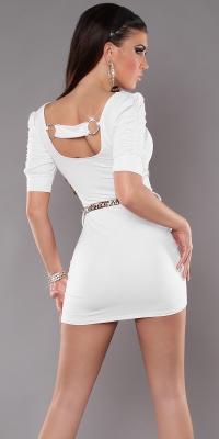 Rochie mini Sexy cu back-catarama si curea