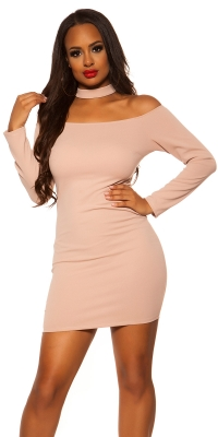Rochii mini Sexy Neck-
