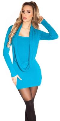 Rochie mini Sexy tricot s 2in1