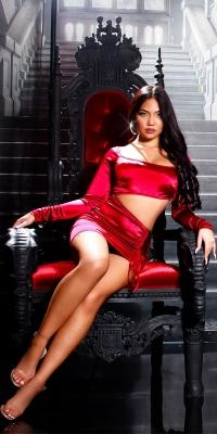 Rochie mini sexy de petrecere s cu Sexy decupaje