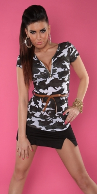 Bluze fashion dama in model camuflaj