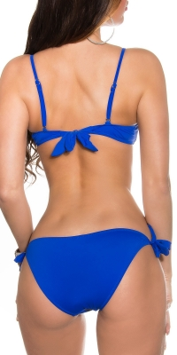 Costum de baie in doua piese Sexy cu strasuriremovable carrier