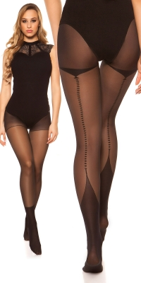 Sexy tights 2in1 look