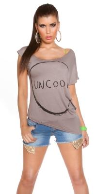 Tricou la moda Uncool asymmetirc