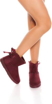 Botine la moda winter lined