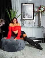 Sexy Latina buricul gol-Top