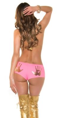 Chilotei dama sexy cu imprimeu maini