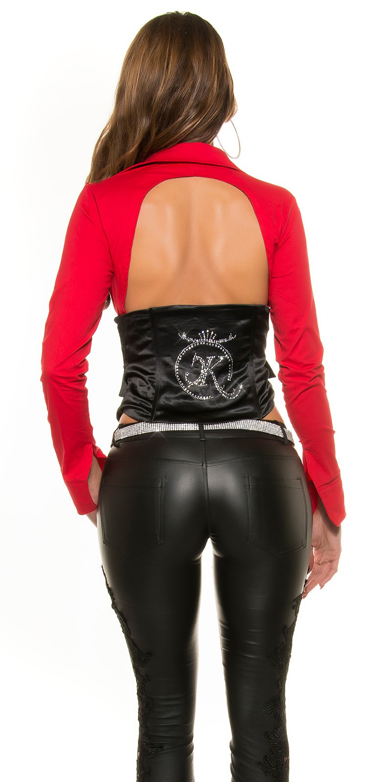 Bluze Corset sexy 2in1 WOW-back