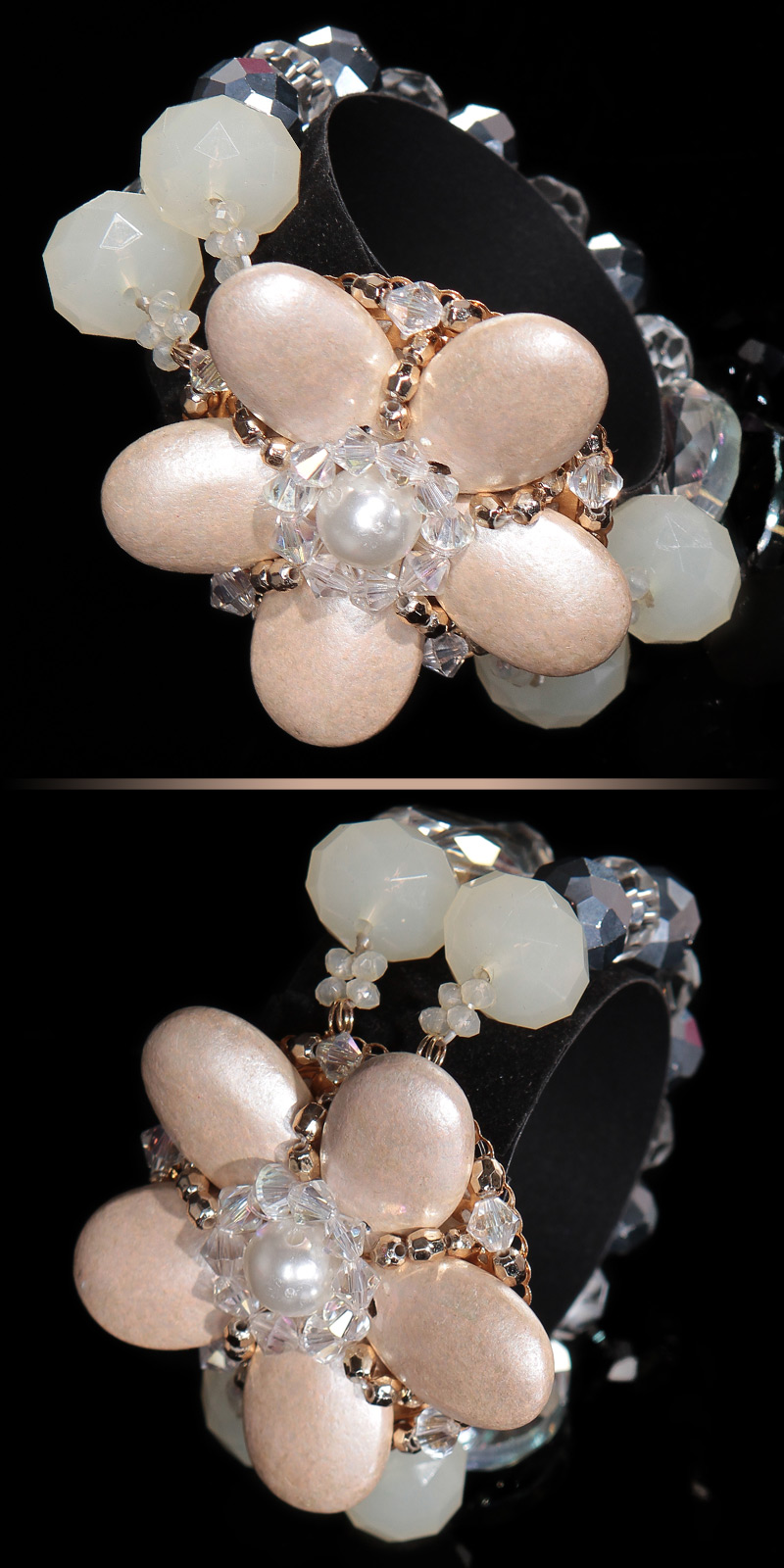 Bratari dama la moda cu perle