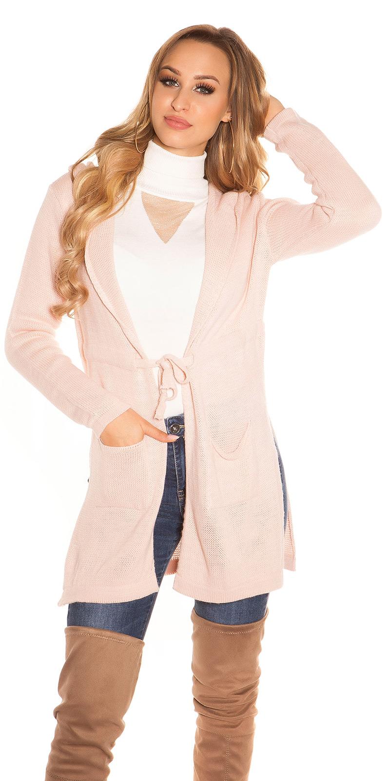 Cardigan la moda Hooded