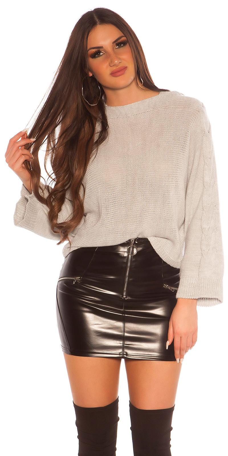 Hanorace Pulovere la moda tricot w. crosetat