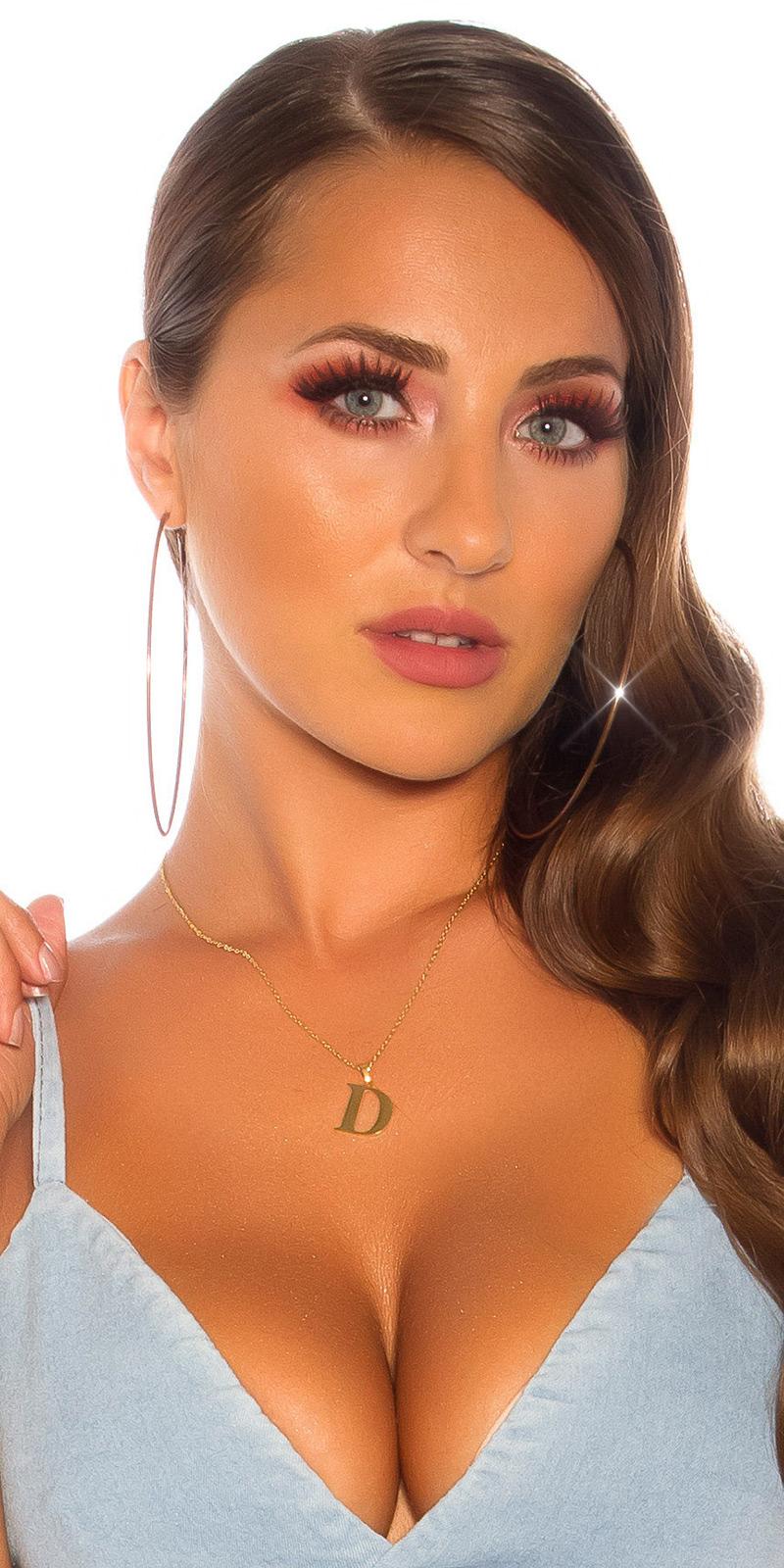 Lantic femei Sexy letter D