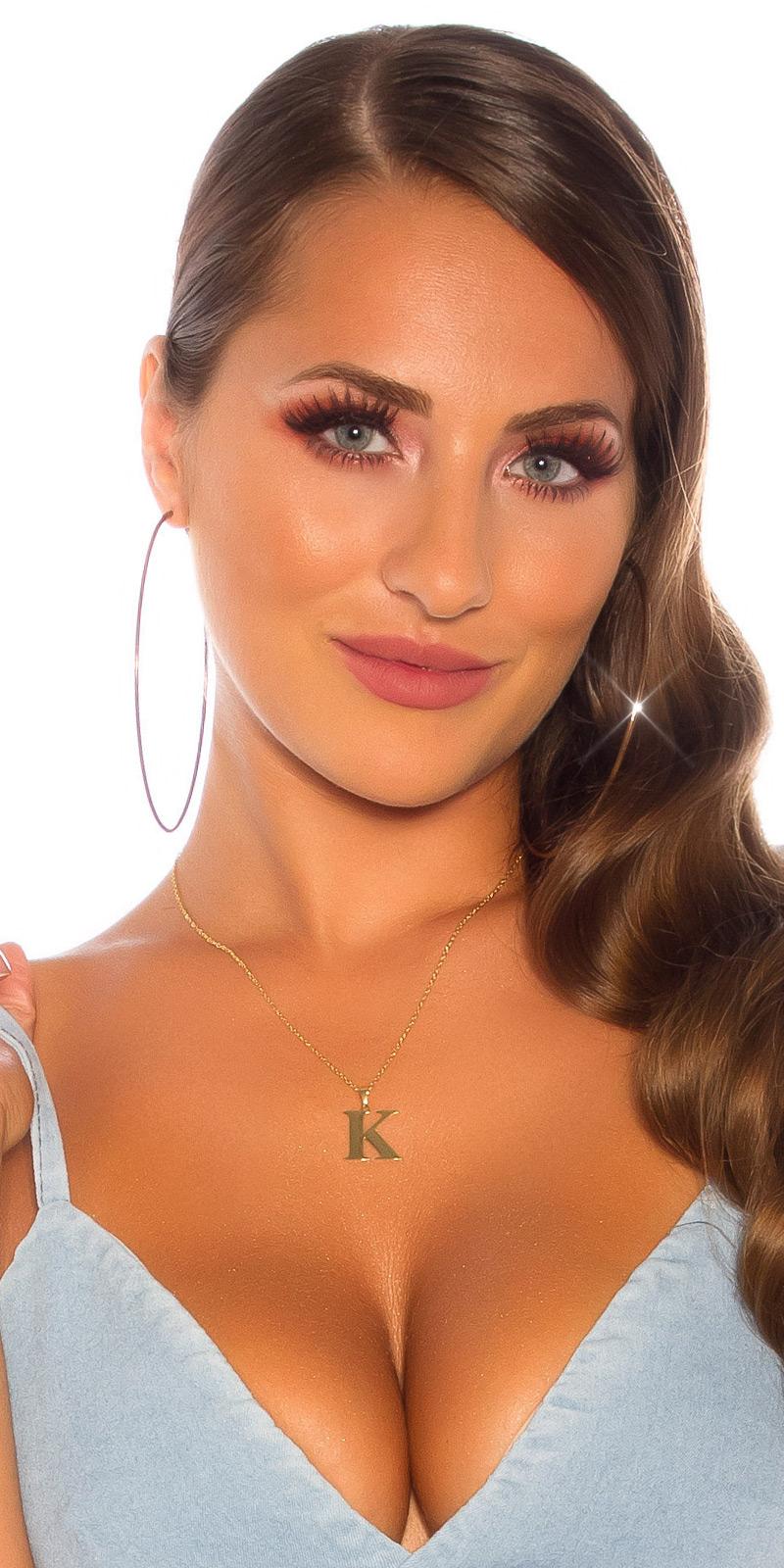 Lantic femei Sexy letter K