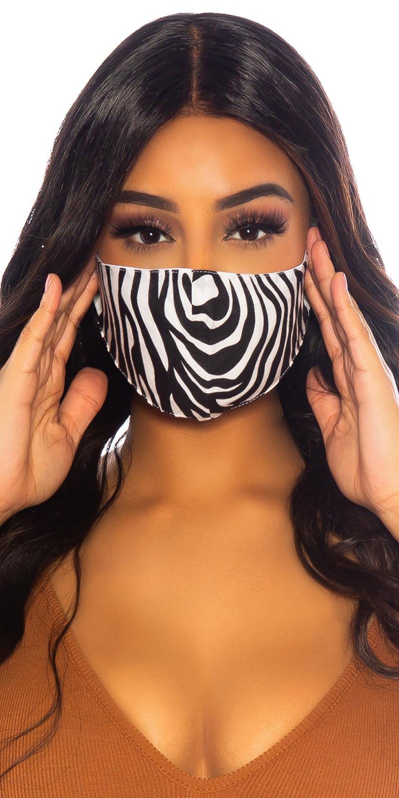 Masca la moda Face cu imprimeu