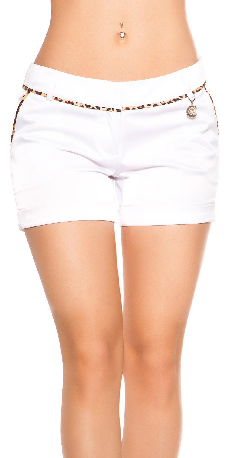 Pantaloni sexy Hot cu cu detaliu model leopard