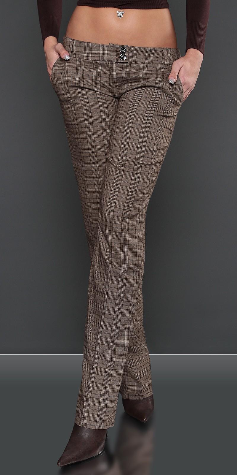 Pantaloni sexy cu patratele cu sclipici