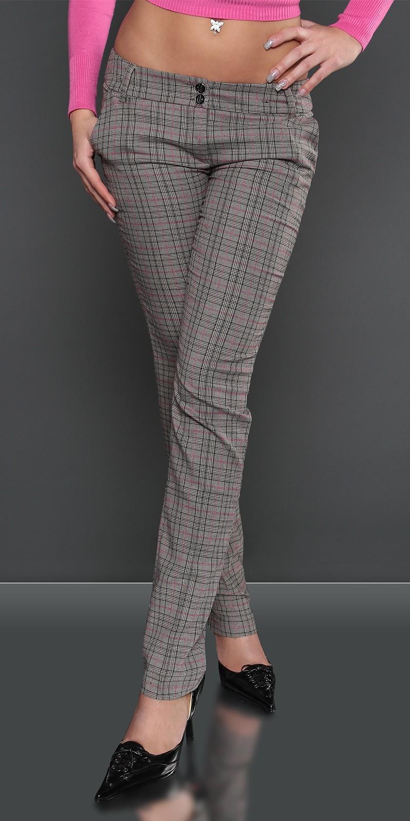 Pantaloni Sexy straightleg fashion cu sclipici