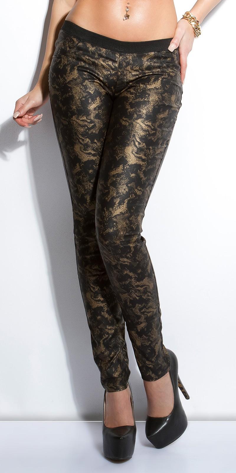 Pantaloni colanti sexy piele ecologica