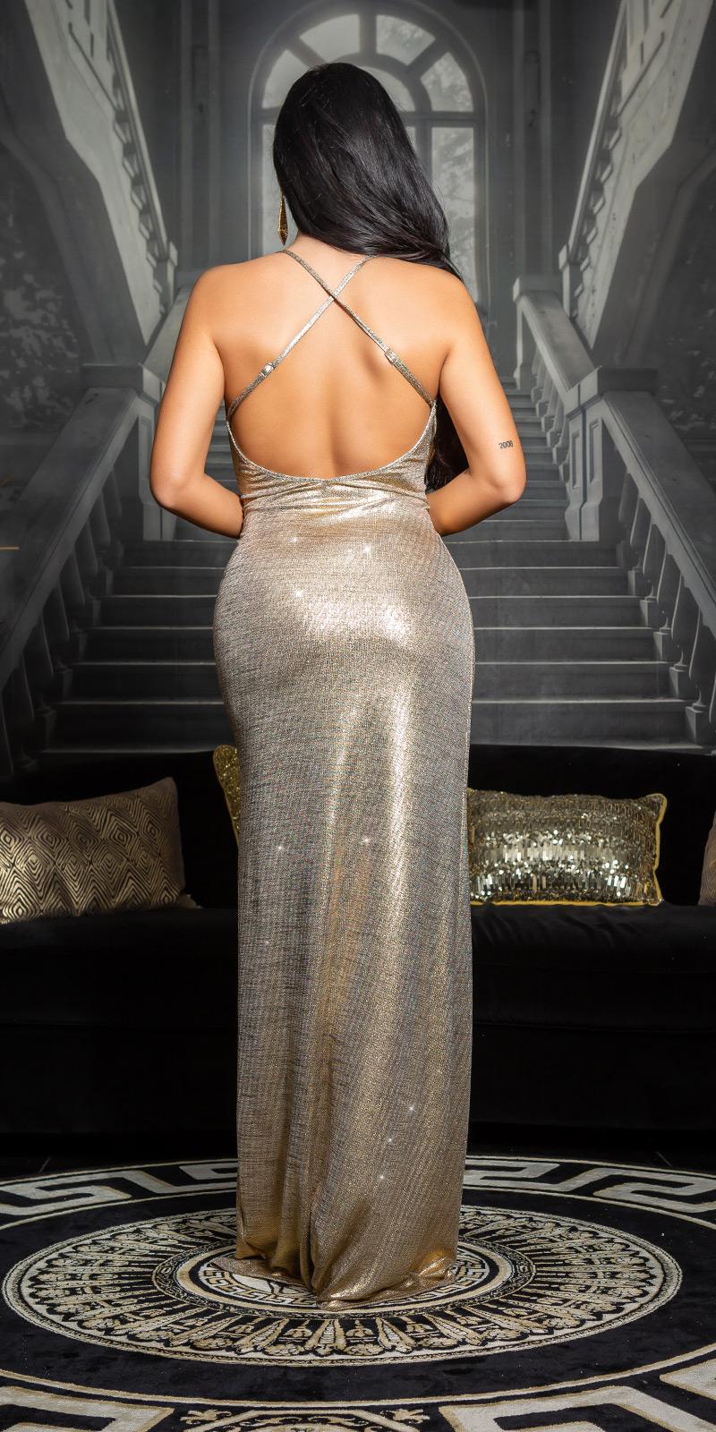 Rochie lunga sexy model elegant OscarLook