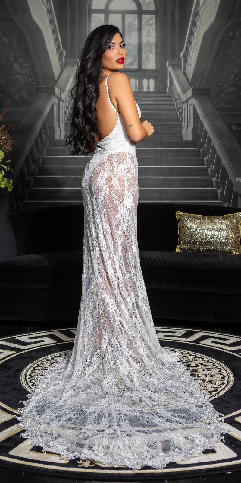 Rochii Soo Seductive open back dantela model elegant