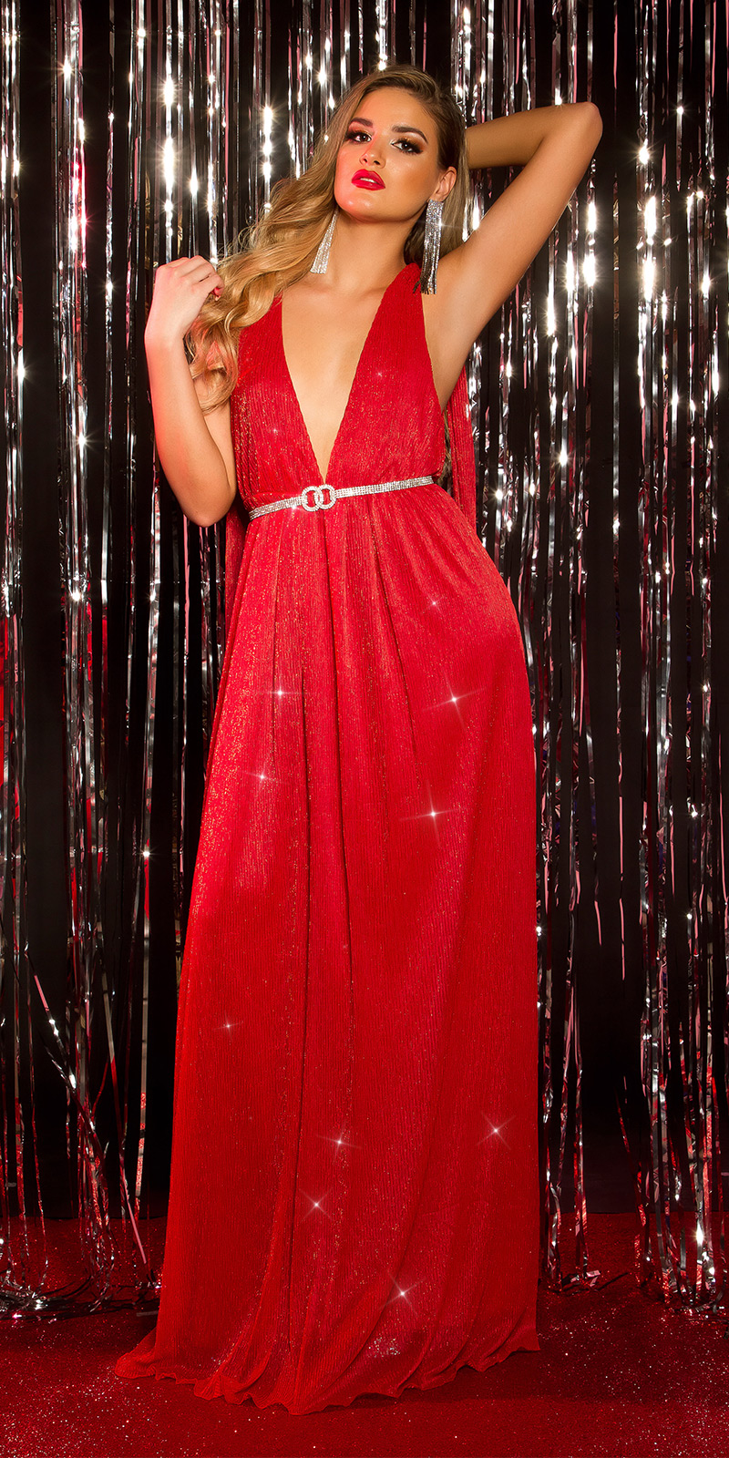 Rochii de seara sexy model elegant Greek Goddess Look
