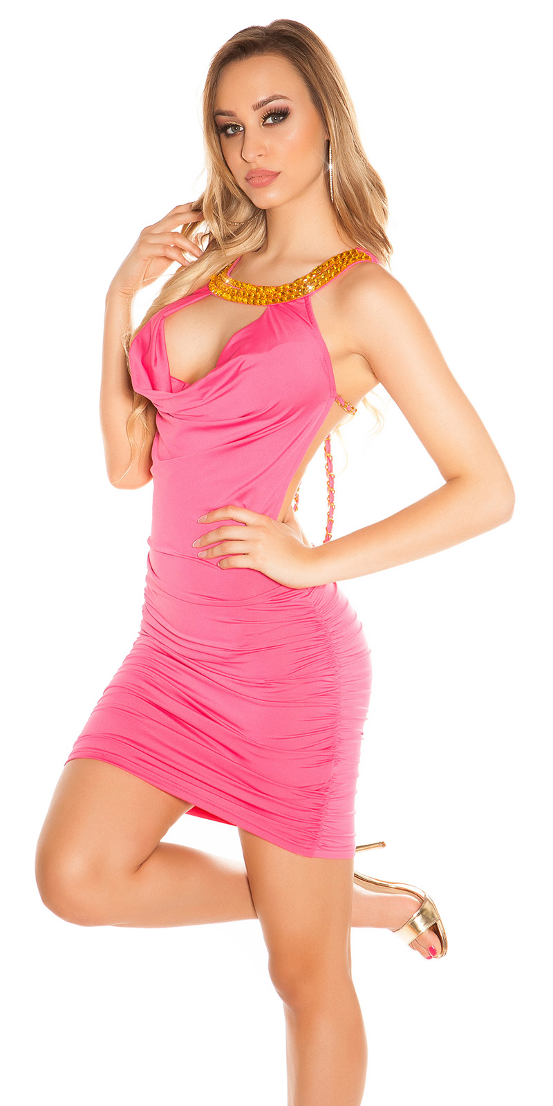 Rochii mini Sexy , cu spatele gol cu strasuri