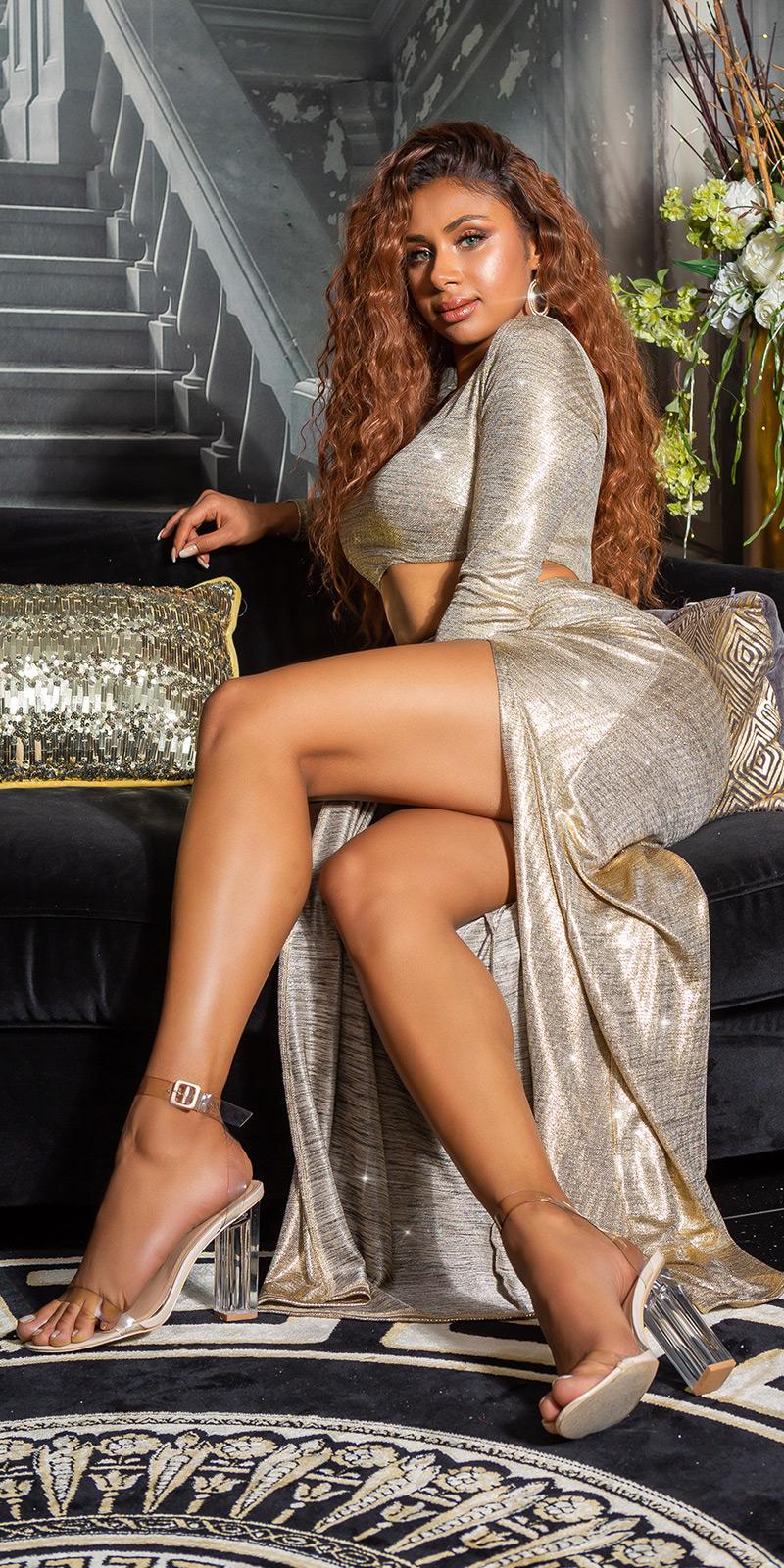 Rochii sexy model elegant cu Sexy Cut-Out