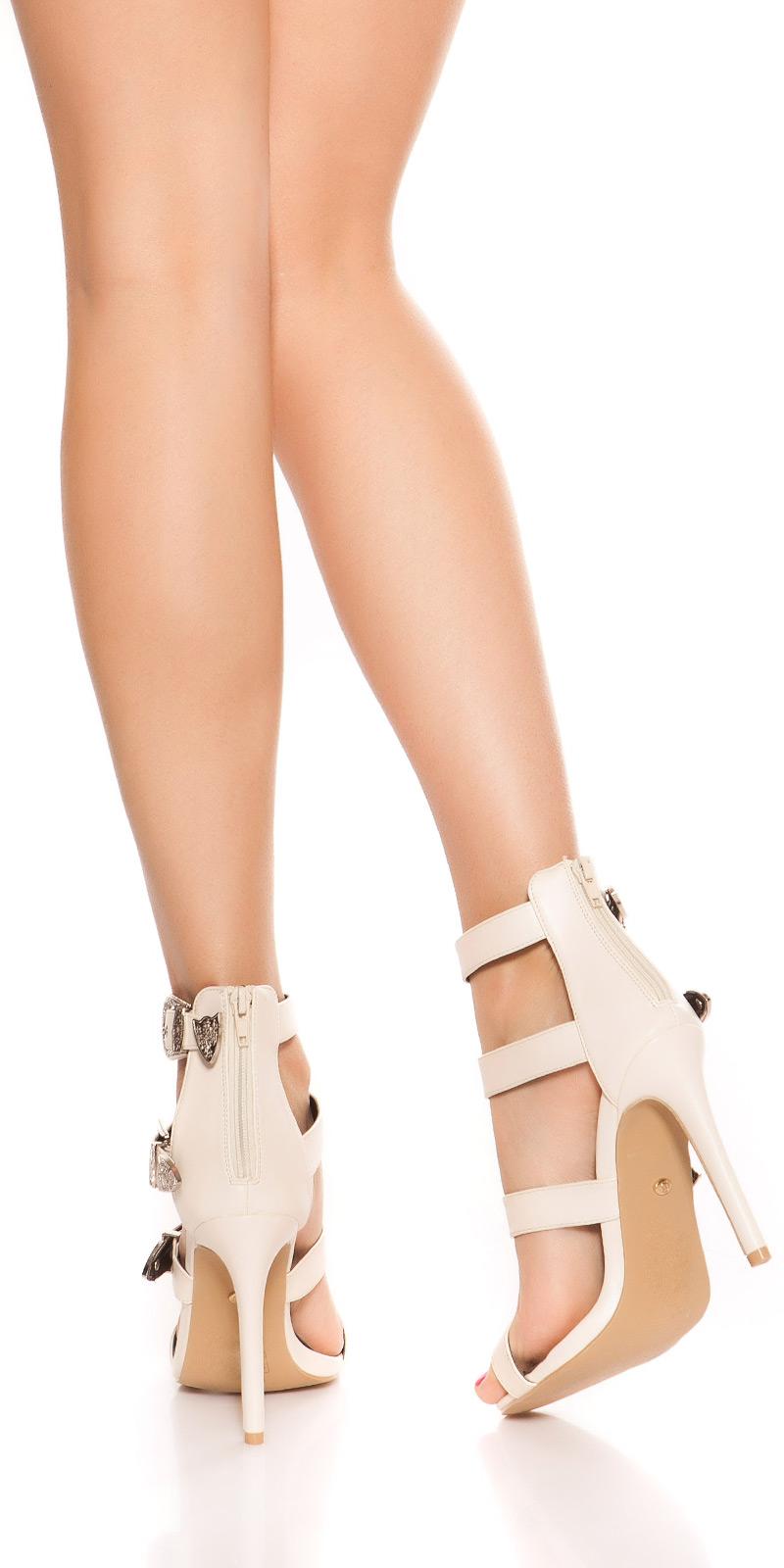 Sandale Sexy cu toc