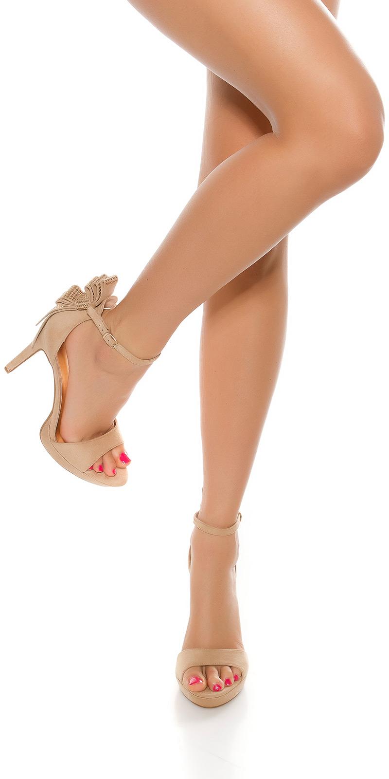 Sandale Sexy cu toc cu sclipici rivets
