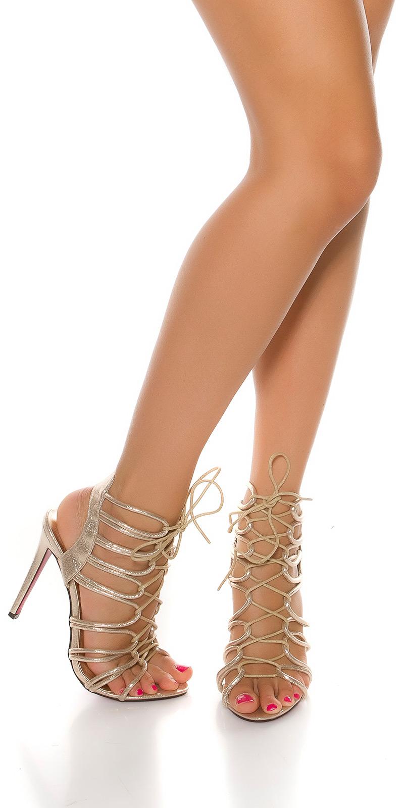 Sandale fashion cu toc Sexy