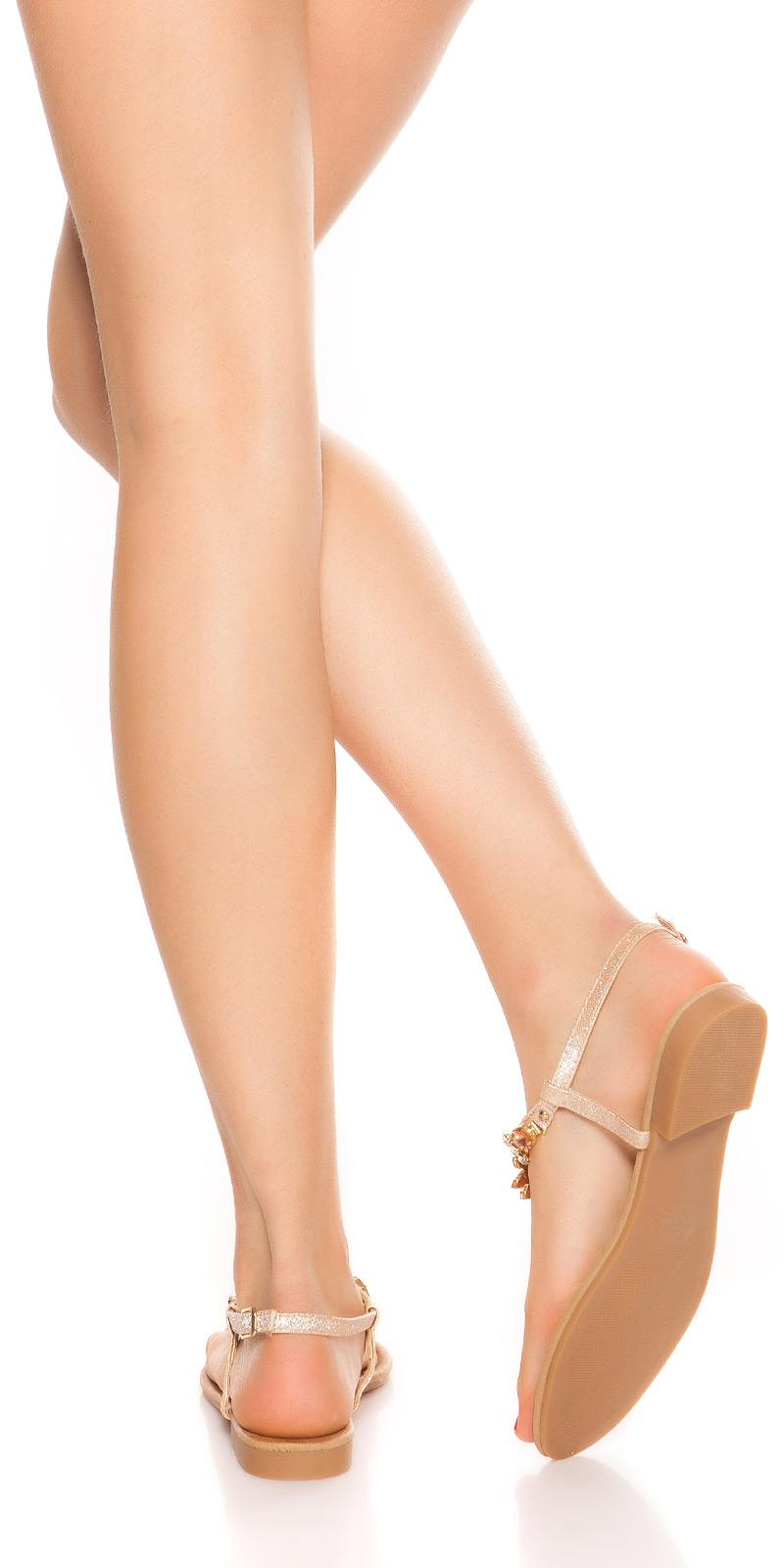 Sandale la moda toe cu strasuri