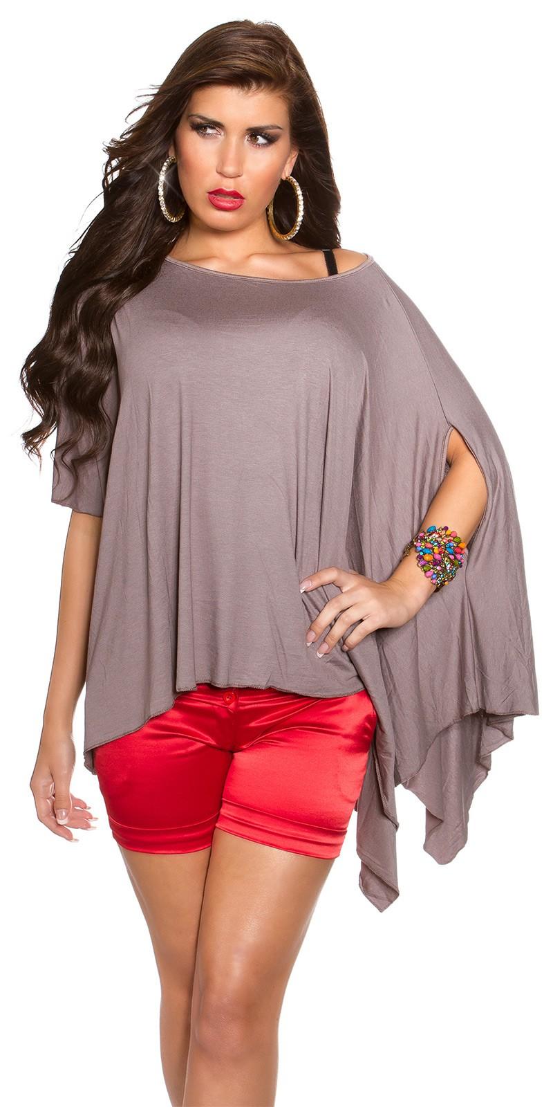 Bluze largi fashion asimetric