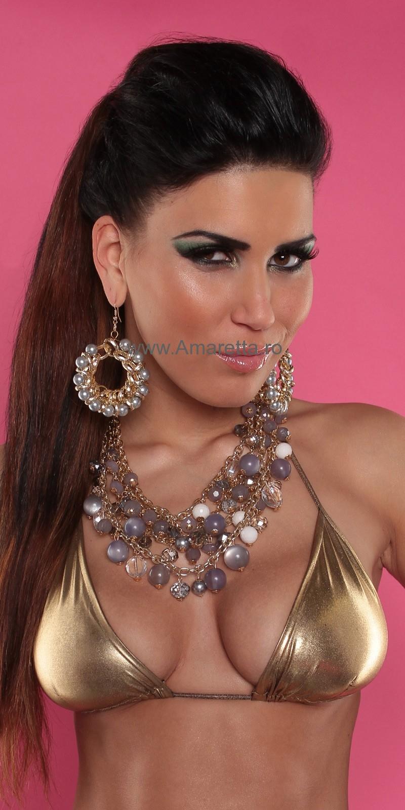 Lantic femei la moda cu perle
