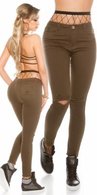 Blugi skinny Sexy aspect uzat
