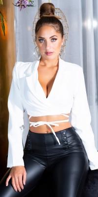 Bolero Jachete dama Sexy maneca lunga / care se leaga