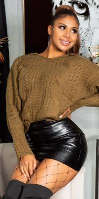 Hanorace la moda tricot crosetat