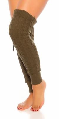 Jambiere Sexy tricot crosetat model