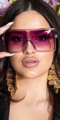 la moda Rectangular Sommer Glasses
