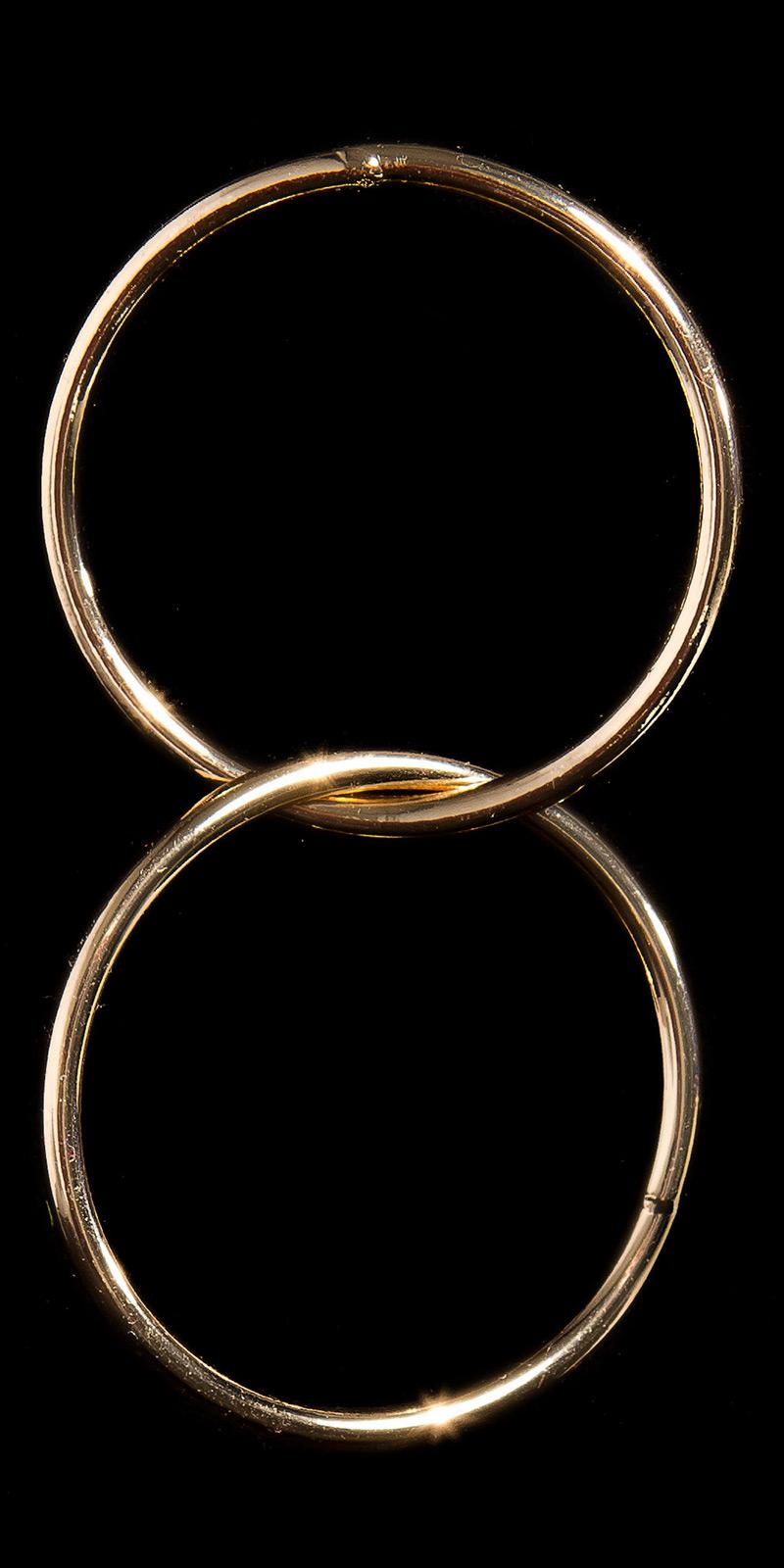la moda ear plug in ring optic