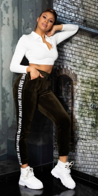 Pantaloni la moda LOVE Sport/Lounge - Thermo