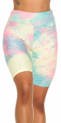 Pantaloni scurti Sexy multicolored Push-Up