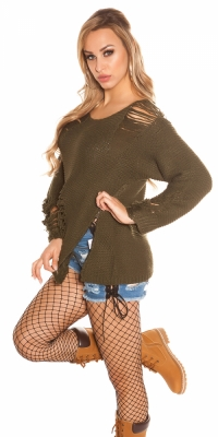 Pulovere la moda model gros tricot ExTreme Used