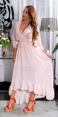 Rochie de vara Sexy cu spatele gol cu curea