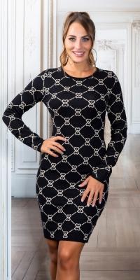 Rochii Sexy tricot fin cu la moda model