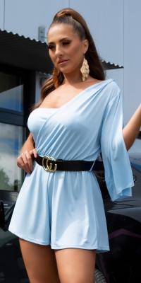 Salopete de club dama Sexy Elegant cu curea