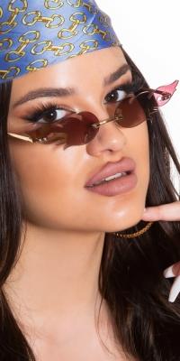 Sexy Cat-Eye FLAME Sunglasses